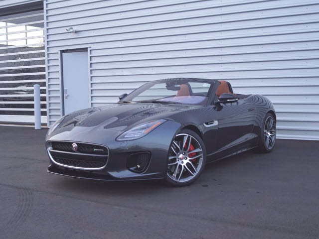 New 2019 Jaguar F Type R Dynamic Awd Convertible