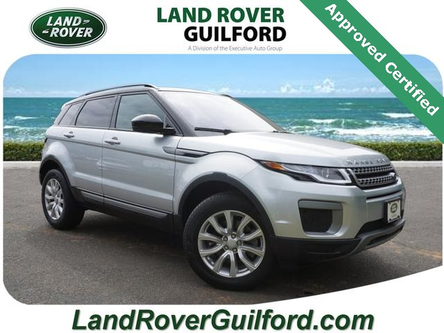 Certified Pre Owned 2017 Land Rover Range Rover Evoque Se 4 Door Suv