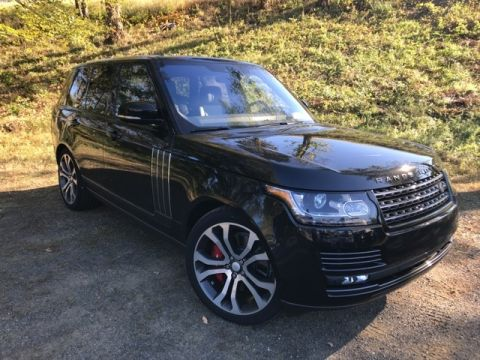 Pre-Owned 2017 Land Rover Range Rover SVAutobiography